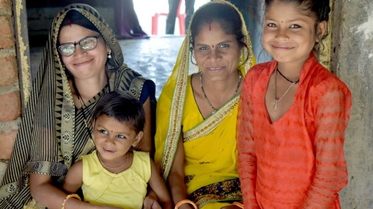 A family transformed thanks to a simple pair of eyeglasses
